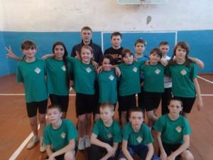 Товарищеская встреча по баскетболу между учащимися Неудачинской и Первомайской школ
