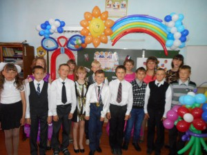Праздник для выпускников начальной школы