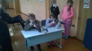 Первенство школы по стрельбе из пневматической винтовки