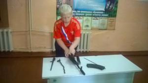 Первенство школы по сборке-разборке макета автомата АК-74 (5-11 классы)
